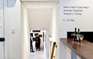 What I Had I Gave Away – Thomas C. Chung + Amanda Humphries @ Hardware Gallery