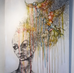 'Life Remixed' – April White @ Salerno Gallery