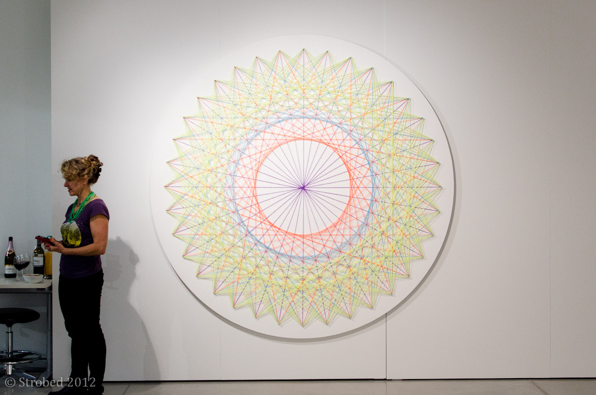 Nike Savvas's work at the UTS Gallery exhibition
