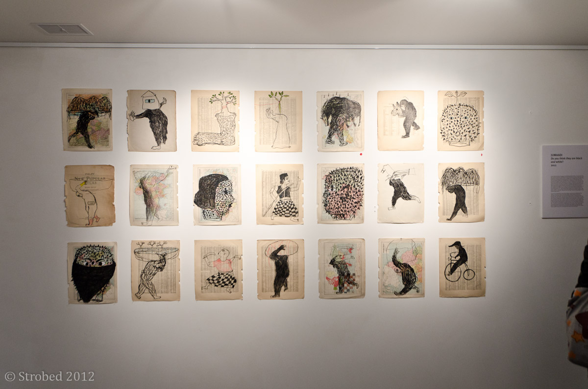 More of Jumaadi's artworks at DNA Projects exhibition opening