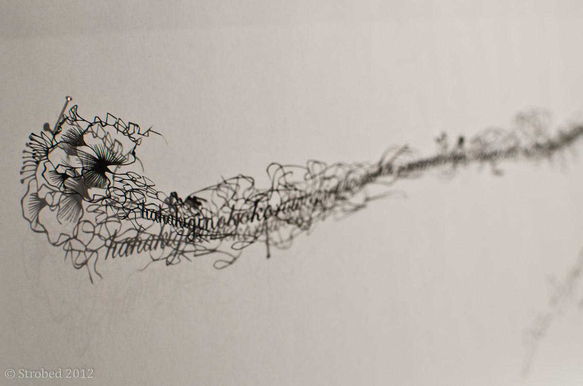 Incredible delicate cutouts by Hina Aoyama at NG Art Gallery