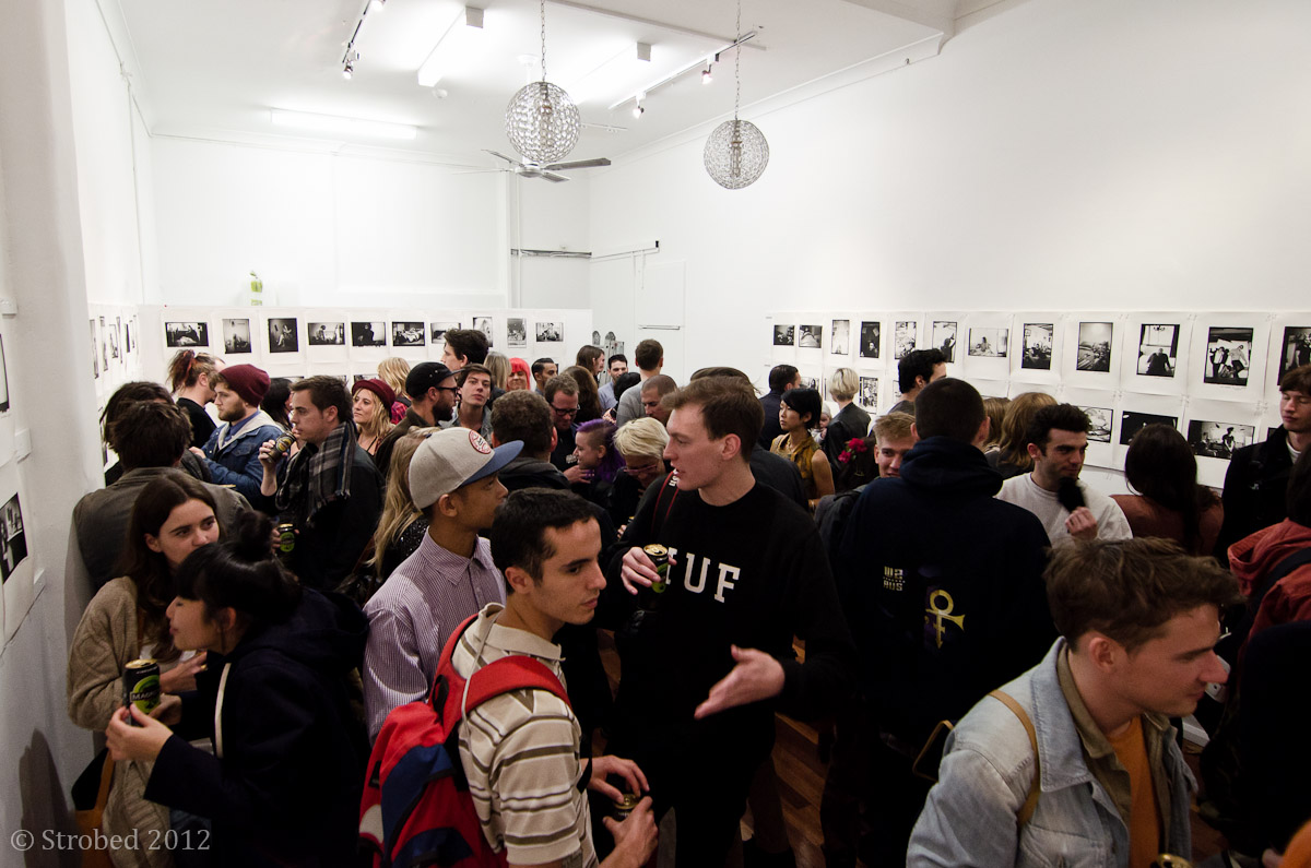 Kind Of gallery on Oxford Street in Darlinghurst is packed to the gills.