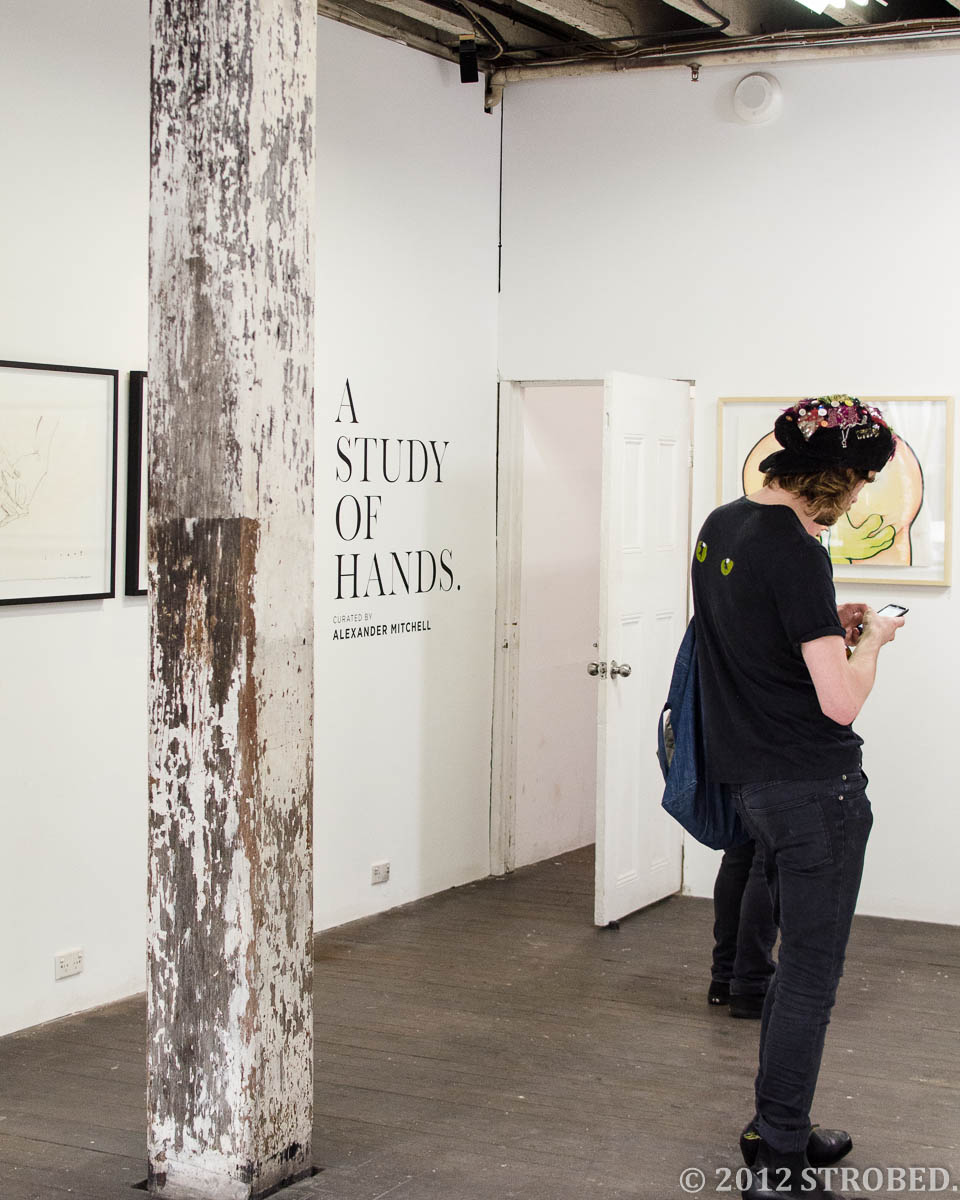 A Study of Hands at China Heights Gallery